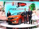 """Mẫu xe Jazz làm """"nóng"""" gian hàng Honda tại VMS 2017"""