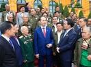 Chủ tịch nước tiếp đoàn đại biểu công dân Lào