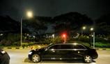 Đoàn xe ông Kim Jong-un đến sân bay, chuẩn bị về nước