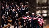 Những điểm nhấn tại đám tang cựu Tổng thống George H.W. Bush