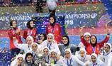 Vô địch Futsal nữ châu Á: Iran ẵm mọi danh hiệu
