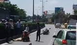 Tai nạn trên đường làm nhiệm vụ, 1 CSGT nhập viện cấp cứu