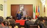 Phó Thủ tướng Trương Hòa Bình gặp cộng đồng người Việt tại Ý