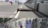 Đường bộ hành thiếu an toàn