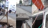 Những vỉa hè nguy hiểm ở Đồng Nai