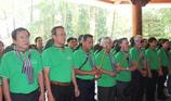 Đoàn cán bộ tuyên giáo, báo chí thăm Ngã ba Đồng Lộc
