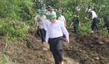 Trưởng ban tổ chức TW vượt núi đi bộ vào tâm lũ Mường Lát