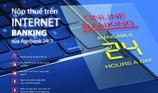 Nộp thuế xuất nhập khẩu điện tử qua Internet Banking Agribank