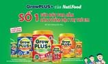 GrowPLUS+: Hai lần được chứng nhận đứng đầu ngành sữa đặc trị