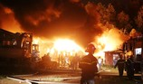 Kho sơn trong khu công nghiệp ở Đà Nẵng bốc cháy dữ dội