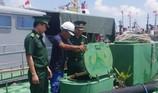 Một số tàu NĐ 67 mua bán xăng dầu trái phép trên biển