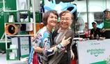 'Điểm Check-in hạnh phúc' của Manulife đổ bộ đến Hà Nội