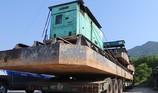 2 xe chở hàng 'khủng' bị phạt hơn 77 triệu đồng
