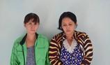 Chở con và em gái đi trộm cắp tài sản