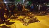 Clip 'xe điên' Lexus tông hàng loạt xe máy tại Hà Nội