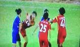 Ẩu đả sau trận thắng đưa TP.HCM I vào chung kết bóng đá nữ