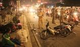 Tài xế đạp nhầm chân ga tông hàng loạt xe máy ở quận 7