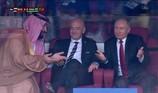 Cảm xúc của các nguyên thủ quốc gia khi xem World Cup 2018