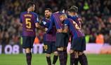 Đánh bại Villarreal, Barcelona đòi lại ngôi đầu bảng
