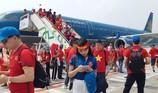 Điều thêm máy bay lớn đưa cổ động viên đi Malaysia cổ vũ