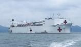 Tàu bệnh viện lớn nhất thế giới của Mỹ trở lại Nha Trang