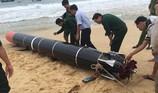 Vật thể giống ngư lôi là 'thiết bị huấn luyện hải quân'