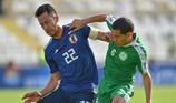 Nhật Bản suýt ôm hận trước Turkmenistan kiên cường
