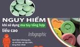 Nguy hiểm khi sử dụng ma túy tổng hợp liều cao