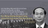 Xúc động những dòng sổ tang viếng Chủ tịch nước Trần Đại Quang