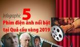 5 phim điện ảnh nổi bật tại Quả cầu vàng 2019