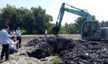 Xử hình sự vụ chôn rác thải: Chờ kết quả xét nghiệm