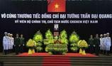 Hàng ngàn người tiễn đưa linh cữu Chủ tịch nước Trần Đại Quang