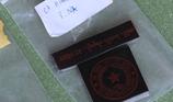1 người làm giả con dấu của cơ quan cảnh sát điều tra