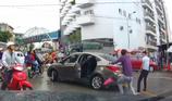 Chém đứt gân tay tài xế sau va chạm trên đường
