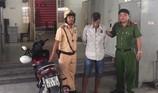 CSGT trạm Tân Túc 'xuất kích' tóm gọn tên trộm xe AirBlade