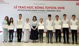 Toyota trao 85 học bổng hỗ trợ tài năng trẻ âm nhạc 2018