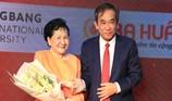Ba Huân bắt tay cùng trường ĐH Hồng Bàng tạo việc làm cho SV