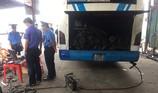 Phạt nhiều tài xế xe buýt để khí thải vượt quy định
