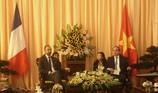 Bí thư TP.HCM Nguyễn Thiện Nhân hội kiến Thủ tướng Pháp
