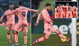 Atletico Madrid sẩy chân, Barcelona bứt tốc
