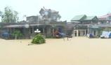 Nhiều nơi ở Ninh Bình chìm trong biển nước