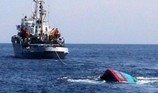 Tàu cá Bình Định lại bị đâm chìm, 8 ngư dân bị nạn