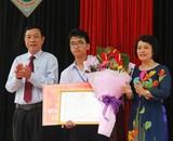 Nam sinh Quảng Trị được thưởng 40 triệu đồng