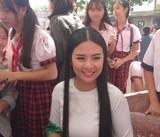 Hoa hậu Ngọc Hân mang Tủ sách Nhân Ái đến học sinh Phú Quốc