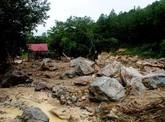 5 người chết, 13 người mất tích do lũ quét, lở đất