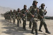 Quân đội Afghanistan tập trận độc đáo