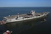 Siêu tàu sân bay Mỹ tiến gần hơn về châu Á
