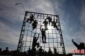 Tận mắt học sinh Palestine huấn luyện quân sự