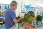 Cựu tổng thống George W. Bush triển lãm tranh