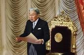 Nhật hoàng ấn định thời điểm thoái vị
